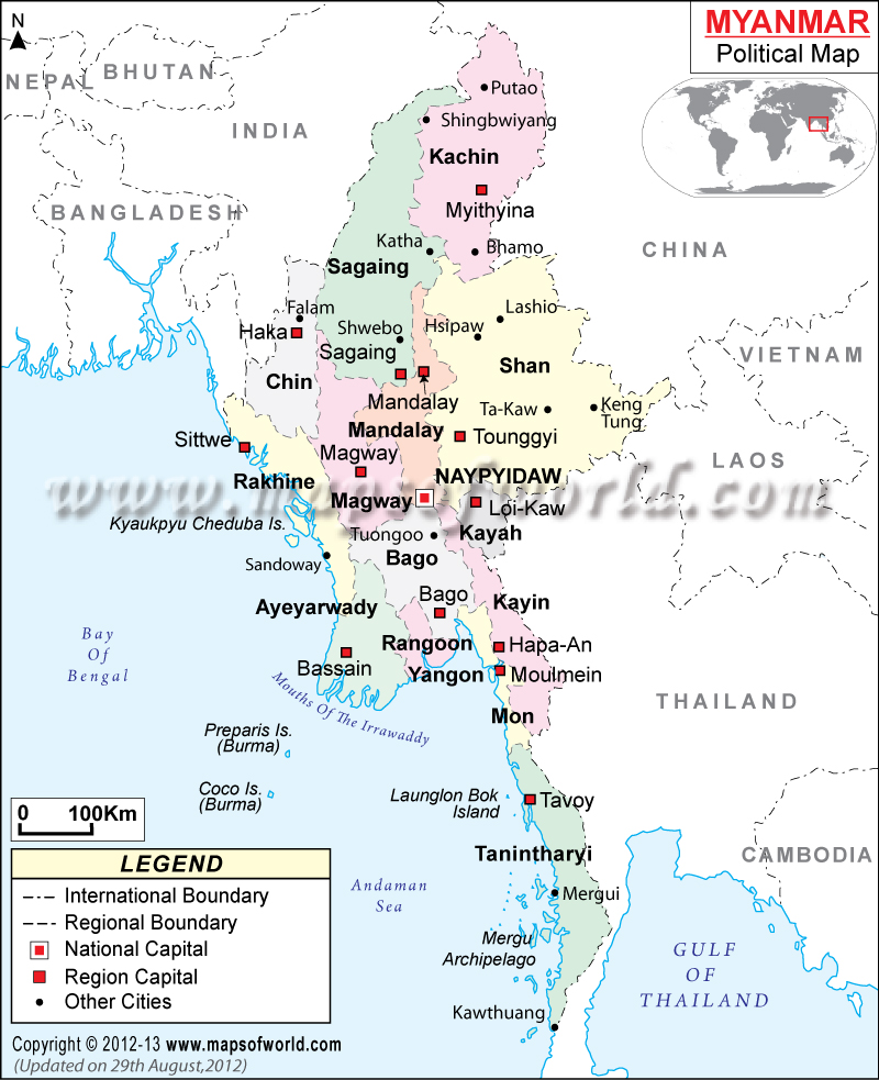 myanmar-political-map